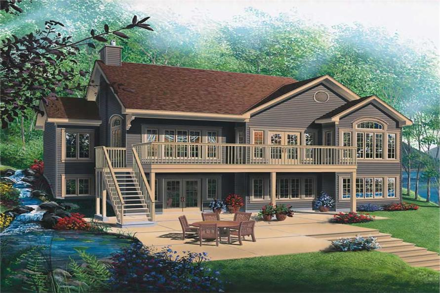 4-Bedroom, 2812 Sq Ft Ranch House Plan - 126-1801 - Front Exterior
