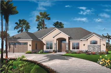 Main image for house plan # 19988
