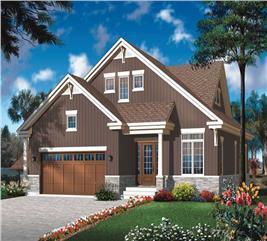 House Plan #126-1803