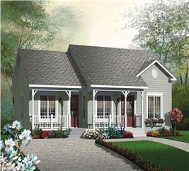 House Plan #126-1804