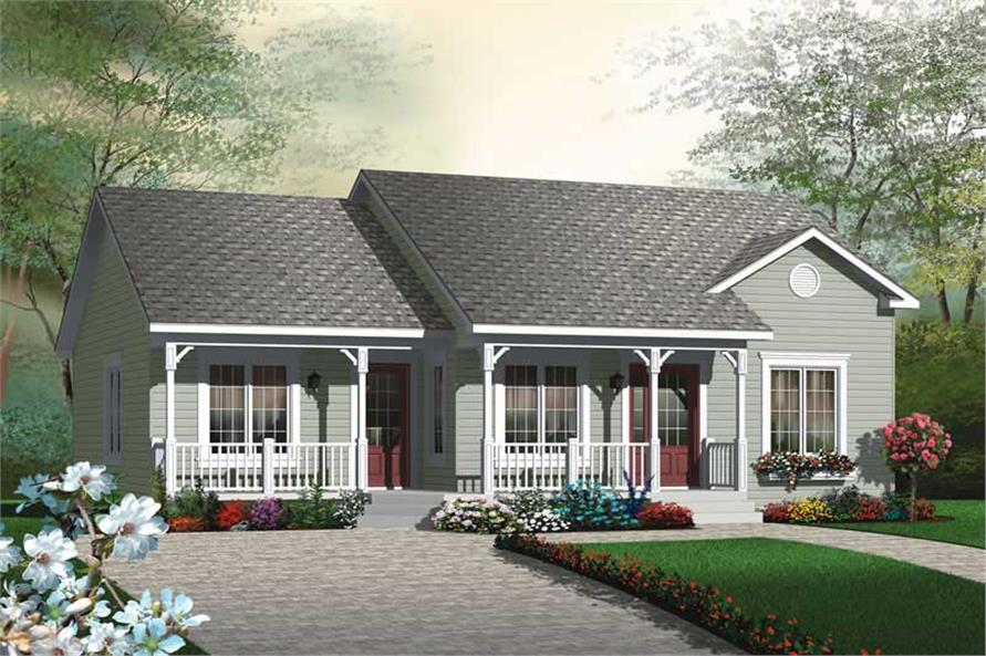 Main image for house plan # 19977