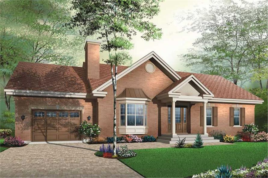 Main image for house plan # 13262
