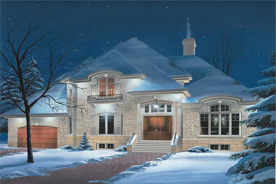 Main image for house plan # 12995