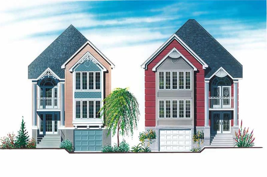 Main image for house plan # 12927