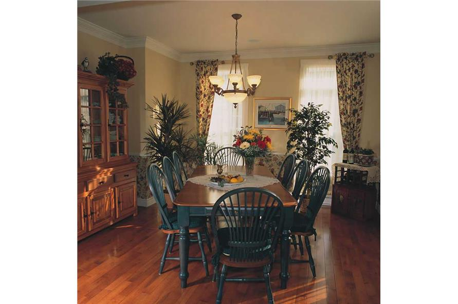 homeplan dd-2651 dining room