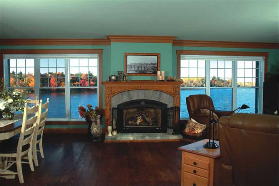 houseplan dd-2631 fireplace