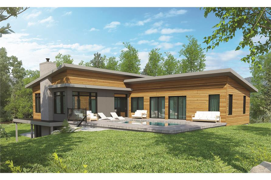 Home Plan 3D Image of this 3-Bedroom,2808 Sq Ft Plan -2808