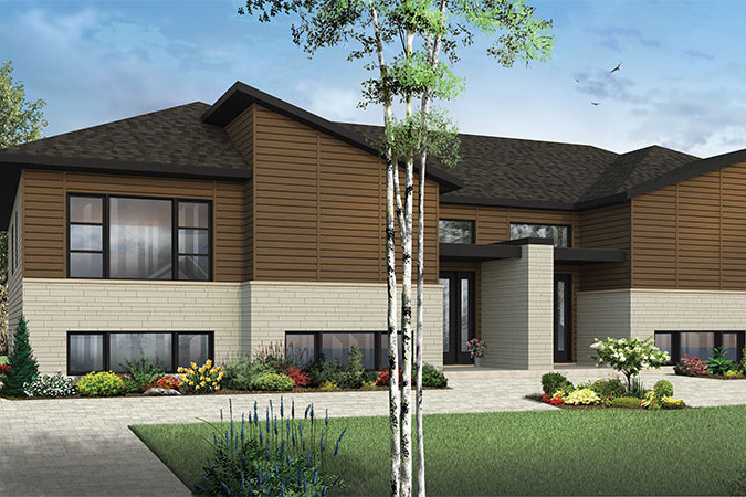 Multi Unit House Plan 126 1861 3 Bedrm 4784 Sq Ft Per