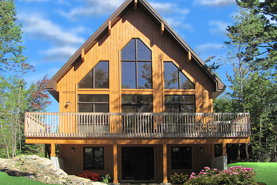 3 Bedrm, 1301 Sq Ft Vacation Homes House Plan #126-1890