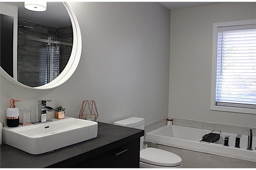 Bathroom of this 2-Bedroom,1102 Sq Ft Plan -1102