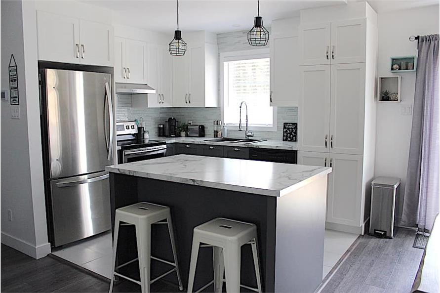 Kitchen of this 2-Bedroom,1102 Sq Ft Plan -1102