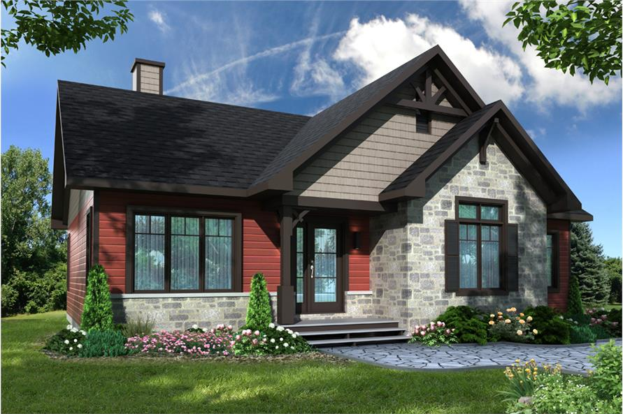 5 bedrm 1341 sq ft country house plan 126 1897 for Dfd house plans 1897
