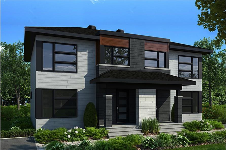 Home Plan Rendering of this 6-Bedroom,2760 Sq Ft Plan -2760