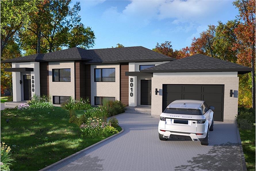 Home Plan Rendering of this 3-Bedroom,3568 Sq Ft Plan -3568