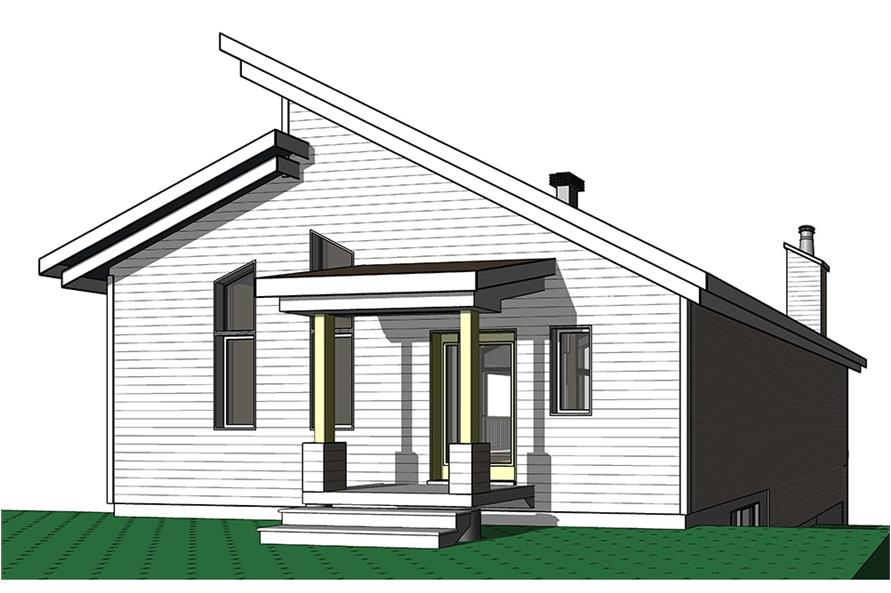 Home Plan Front Elevation of this 3-Bedroom,2085 Sq Ft Plan -126-1931