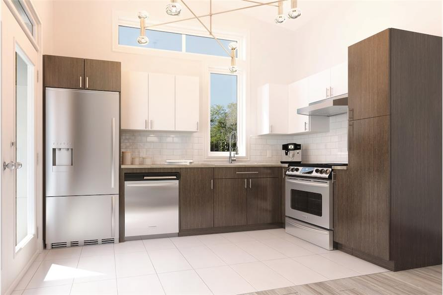 Kitchen of this 2-Bedroom,686 Sq Ft Plan -686