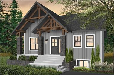 3-Bedroom, 1920 Sq Ft Contemporary House - #126-1961 - Front Exterior