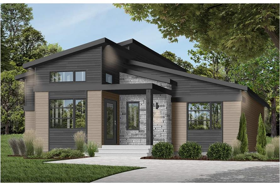 Home Plan Rendering of this 1-Bedroom,1212 Sq Ft Plan -1212