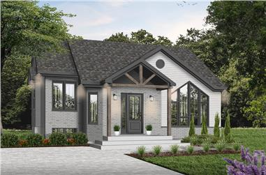 2-Bedroom, 2321 Sq Ft Cottage Home - Plan #126-1974 - Main Exterior
