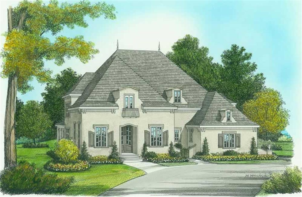 Main image for house plan # 18790