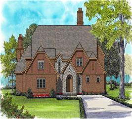 House Plan #127-1006
