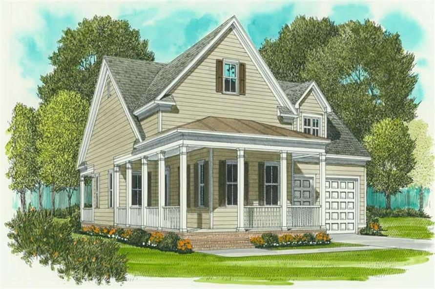 Main image for house plan # 17022