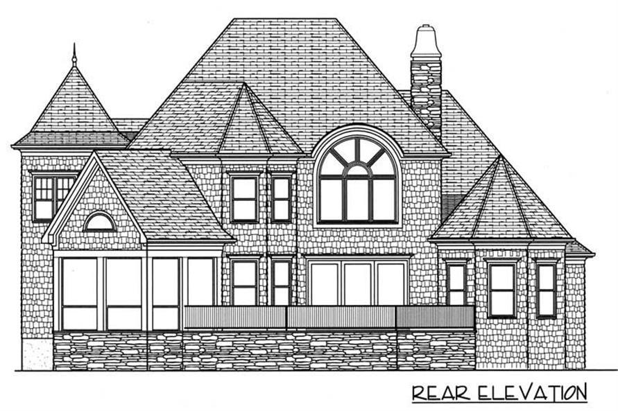 House Plan #127-1023