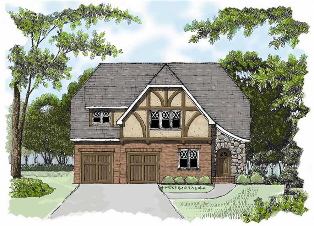 Main image for house plan # 17298