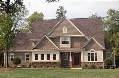 4-Bedroom, 4300 Sq Ft European Home Plan - 127-1027 - Main Exterior