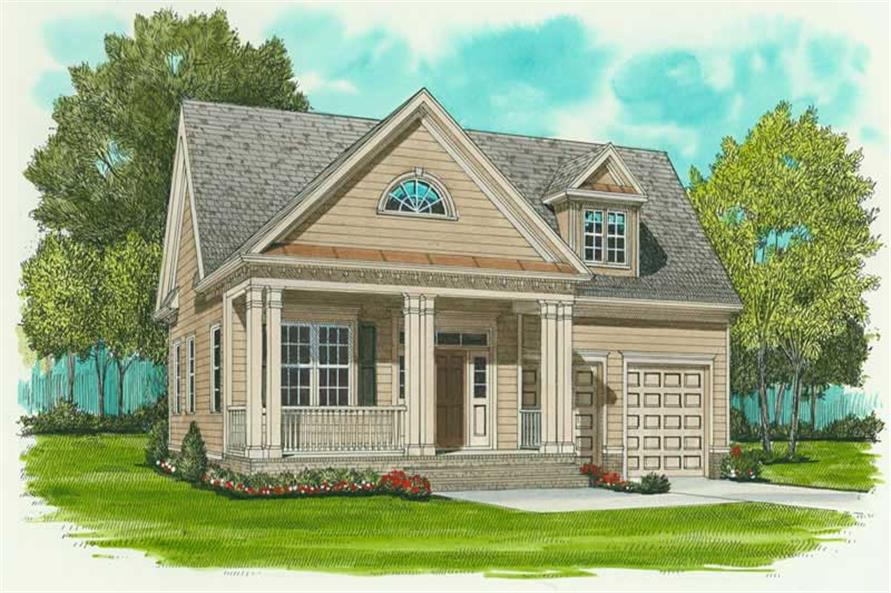 Main image for house plan # 17271