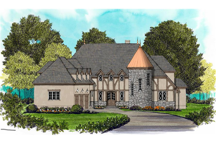 French Houseplans Home Plan Design Champlain
