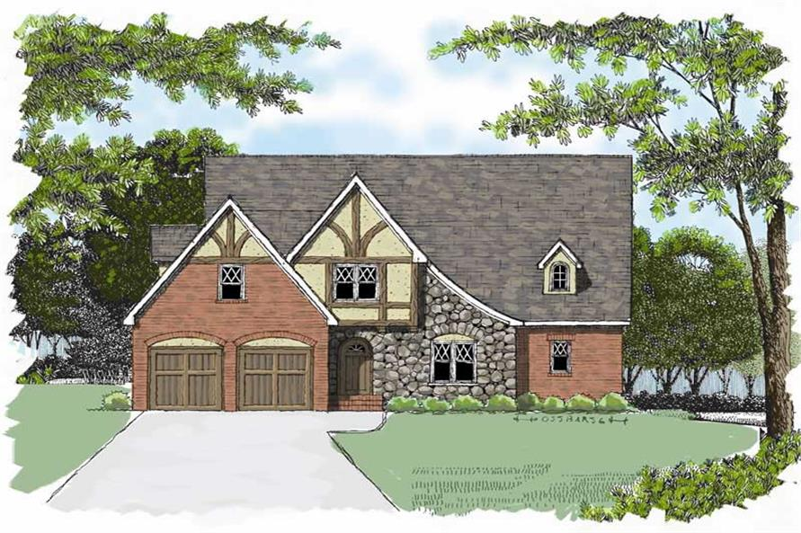 Main image for house plan # 17299