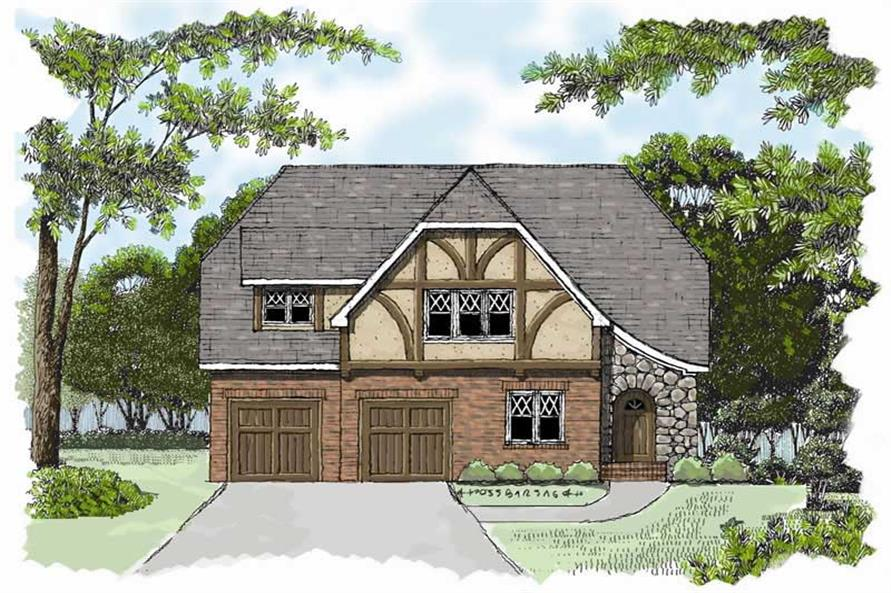 Main image for house plan # 17297
