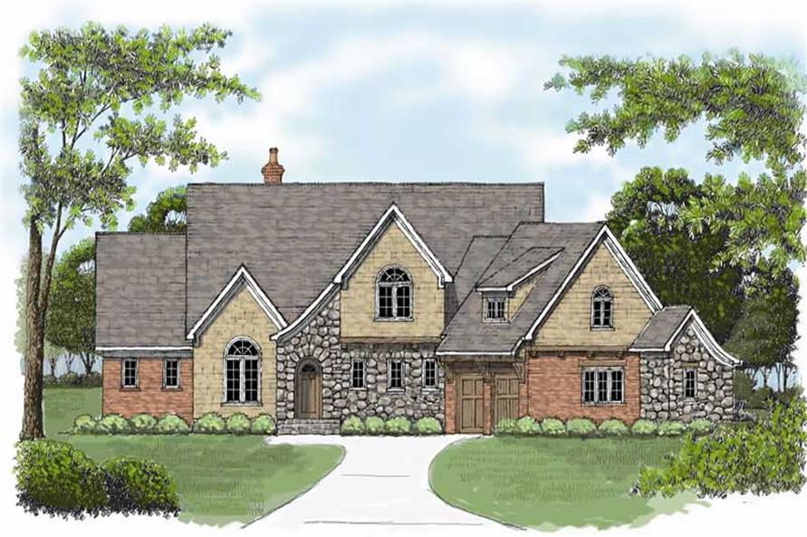 Main image for house plan # 17355