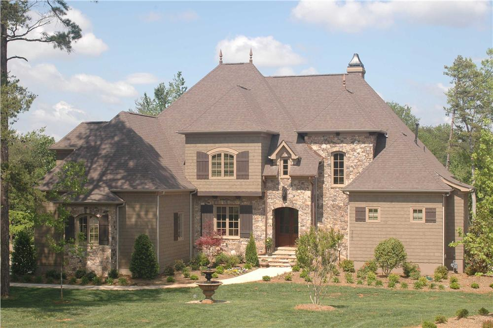 French home plans color photo.