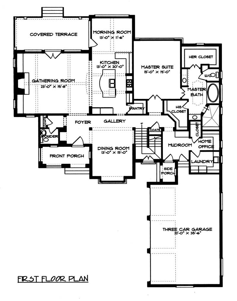 French house plans home design edg 3784 17338 - English style house plans tradition and functionality ...