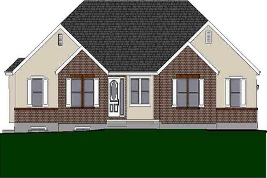 Main image for house plan # 18909