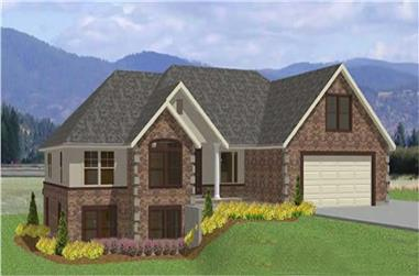 3-Bedroom, 4486 Sq Ft Luxury House Plan - 129-1007 - Front Exterior