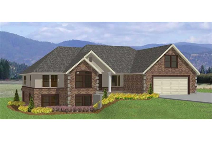 Main image for house plan # 18902