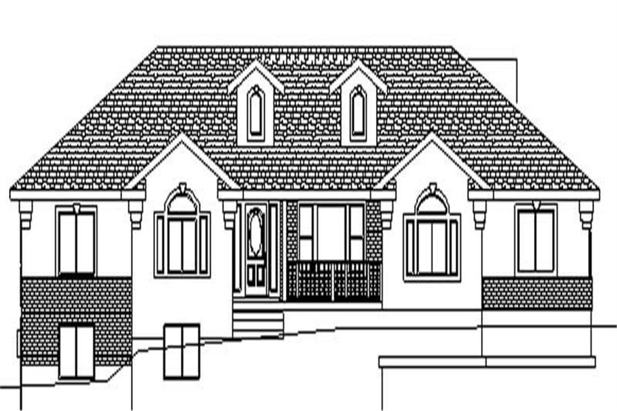 Main image for house plan # 6550