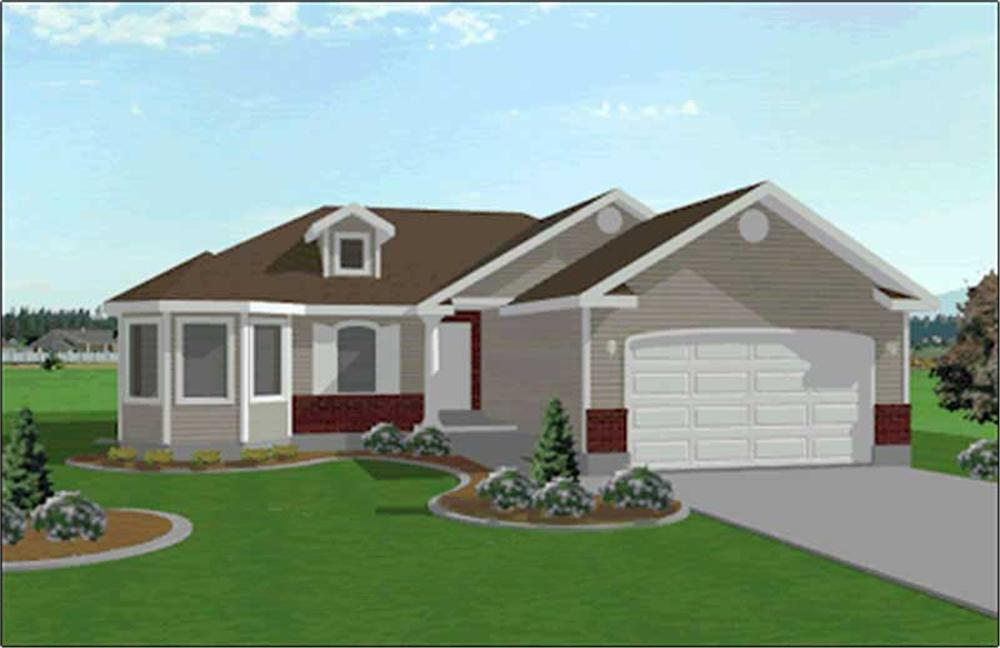 Main image for house plan # 6535