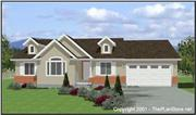 View house Plan#129-1013