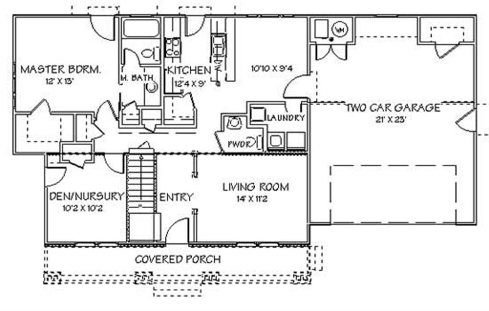 First Story Floor Plan