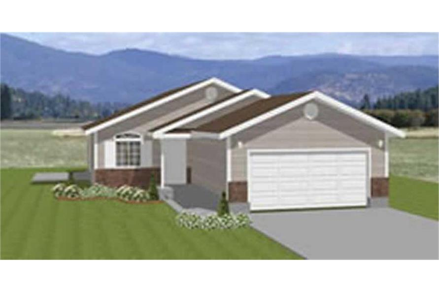 Main image for house plan # 6530