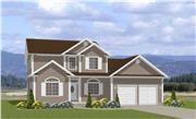 View house Plan#129-1027
