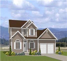 House Plan #129-1027