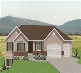 House Plan #129-1029