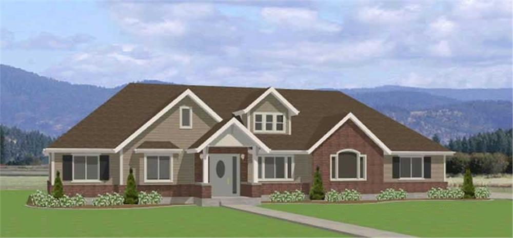 Main image for house plan # 6560