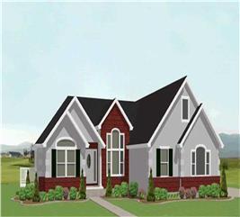 House Plan #129-1032