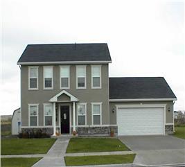 House Plan #129-1033